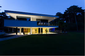 exterior home lighting design modern fusion of lighting design and architecture villa noord