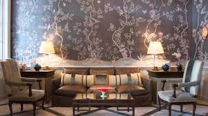 Hand Painted Wallpaper by Nsr Handcrafts Hand Painted Wallpaper Chinoiserie Wallpaper Youtube