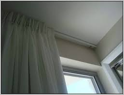 Ceiling Curtain Track by Ceiling Mounted Curtain Track Australia Curtain Track Over Pic1