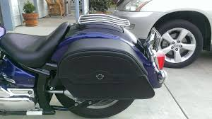 yamaha v star 1100 classic motorcycle saddlebags l uni warrior slanted