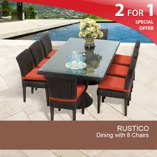 Prices Of Dining Table And Chairs by 8 Person Outdoor Dining Table Wicker Patio Dining Sets