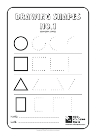 coloring pages coloring shapes worksheet trace and color state
