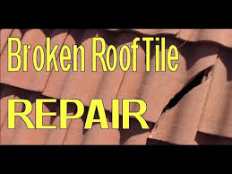 Concrete Tile Roof Repair Repair Broken Concrete Roofing Tile