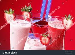 martini strawberry strawberry cocktails smoothies shakes daiquiri martini stock photo