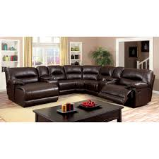 catnapper voyager reclining sectional set brandy hayneedle