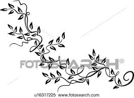clipart of border floral ornaments simple u16317225 search