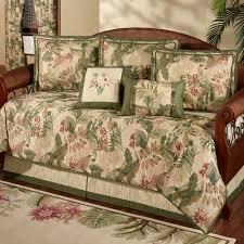 Daybed Comforter Set Tropical Haven 5 Pc Daybed Bedding Set