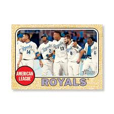 kansas city royals 2017 topps heritage baseball teams gold ed