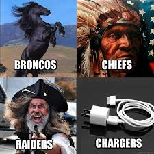 Raiders Chargers Meme - broncos chiefs raiders chargers afc west quickmeme