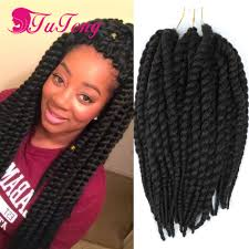 Braid Hair Extensions by Best 12 Havana Mambo Twist Crochet Braid Hair Synthetic Hair