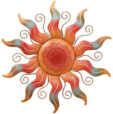 amazon com regal art u0026gift sun wall decor wall sculptures