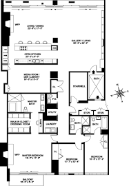 Floor Plans For Condos by Condo In Will Smith U0027s Old Building Sells For 8 9 Million