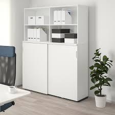 ikea kitchen cabinet sliding doors galant storage combination w sliding doors white 63x78 3 4