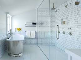 bathroom with corner shower only