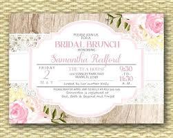 bridal brunch invitations template bridal brunch invitations ryanbradley co