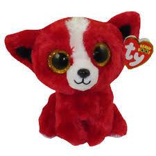 ty beanie boos tomato red dog plush ebay