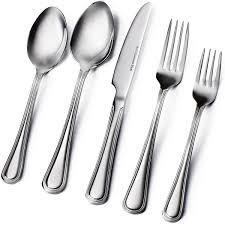 amazon com flatware sets home u0026 kitchen