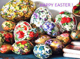 paper mache easter eggs antique paper mache easter eggs floral patterns 1920s ge flickr