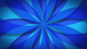 Blue Pattern Background Blue Kaleidoscopic Abstract Pattern Background Loop For Your Logo