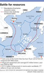 South China Sea Map by South China Sea Part One Fish Wars Asia News U0026 Top Stories