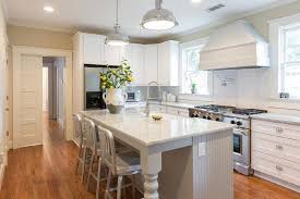 legs for kitchen island gray beadboard kitchen island with turned legs transitional kitchen