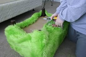 fresh ideas lime green ottoman editeestrela design
