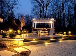 Cool Patio Lighting Ideas Outdoor Landscape Lighting Ideas