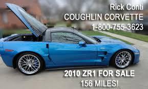 2010 zr1 corvette for sale rick corvette conti archive 156 mile 2010 zr1 for sale