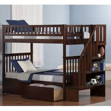 Bunk Bed With Storage Stairs Bunk Loft Beds With Stairs