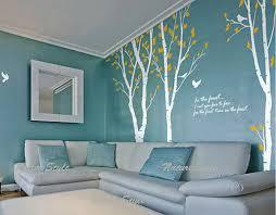 living room mural modern living room with tree wall mural decor wallpaper mural