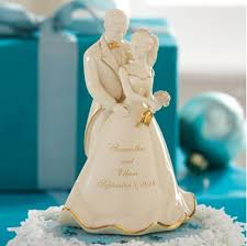 cinderella wedding cake topper