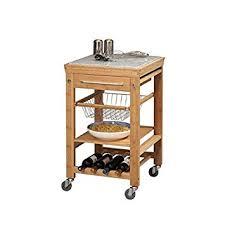 linon kitchen island linon kyoto bamboo inlaid granite mobile kitchen