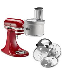 Kitchenaid Blender by Kitchenaid Ksm2fpa Stand Mixer Exactslice Food Processor