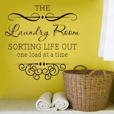 Laundry Room Accessories Storage by Aliexpress Com Buy Wall Sticker Quotes Bathroom Laundry Room