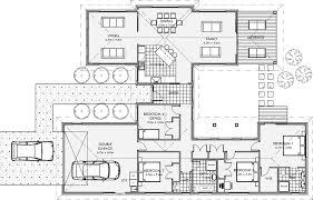 u shaped house plans nz