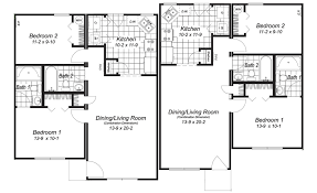 ranch duplex floor plans small home floor plan plans simple house under 1000 sq ft modern 3d