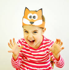 forest animals paper crowns set 10 diy crowns template for