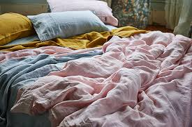 affordable linen sheets envelop yourself in the pure feminine simplicity of our soft rose