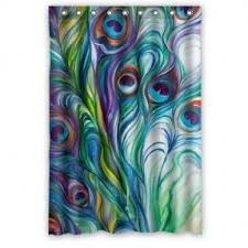 Bathroom Shower Curtain by Stall Size Shower Curtains Foter