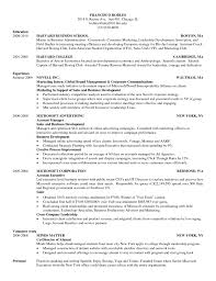 Best Business Resume Format by Harvard Business Resume Template Harvard Business