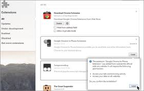 chrome android extensions how to install chrome extensions in opera