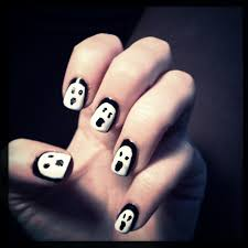 halloween nail art is this the way the world ends