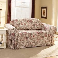 Sofa Throw Slipcovers by Sofas Center Floral Sofa Covers Sure Fit Chloe Slipcover Box