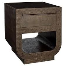 odetta navy crosshatch brass nightstand cabinet pinterest