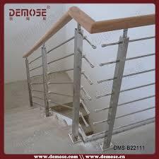 Stainless Steel Stair Handrails Prefab Metal Stair Railing Dubai Stainless Steel Railings Design