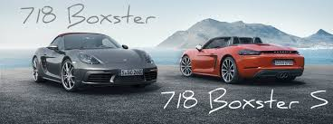 porsche boxster model changes how fast is the 2017 porsche 718 boxster