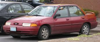 1995 ford escort information and photos zombiedrive