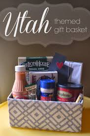 Gift Ideas For Housewarming by Utah Themed Gift Basket A Little Tipsy