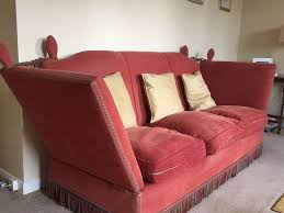 Knole Settee For Sale Antique Knole Sofa X2 Will Sell Separately 250 Each In Farnham
