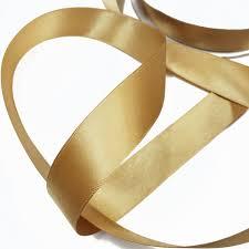 gold satin ribbon gold ribbon faced gold satin ribbon trim from staribbon on